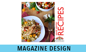 REP digital Media Services Magazine Design