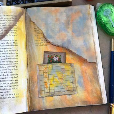 Quick DIY Window Hack for Junk Journals Pages!