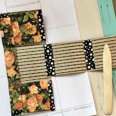 Create a Tri-fold Matchbook Folder Tutorial!