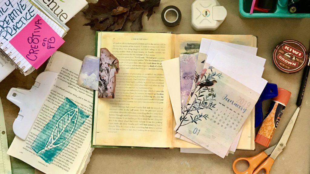 Decorate Flip Flap on Book