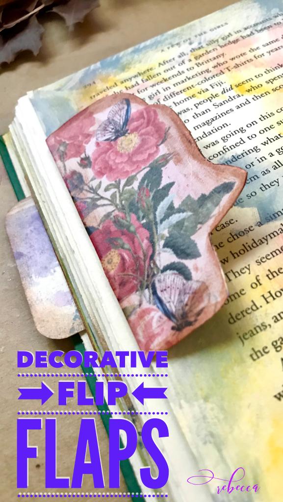 Decorative Flip Flap Pin HERO