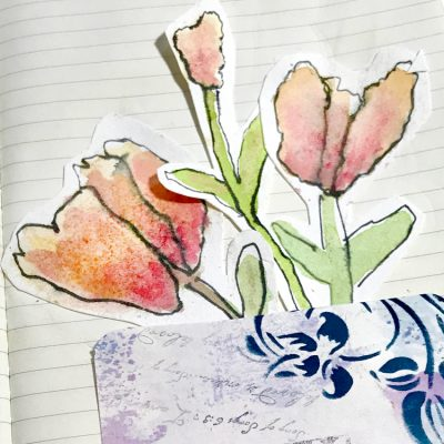 Easy Watercolor Flowers