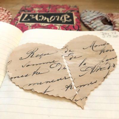 Easy Vintage Cut Valentine Heart