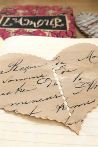 Vintage Cut Heart Feature