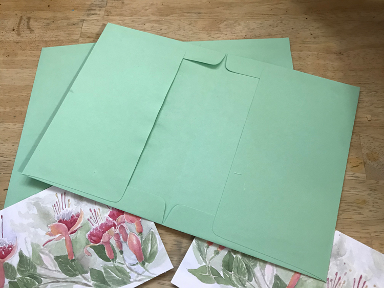 Envelopes Glued Together