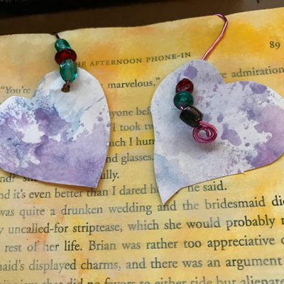 Create Dangling Embellishments for Junk Journal Pages!