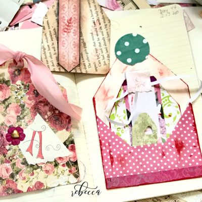 How to Make Fat Juicy Tags from Scraps