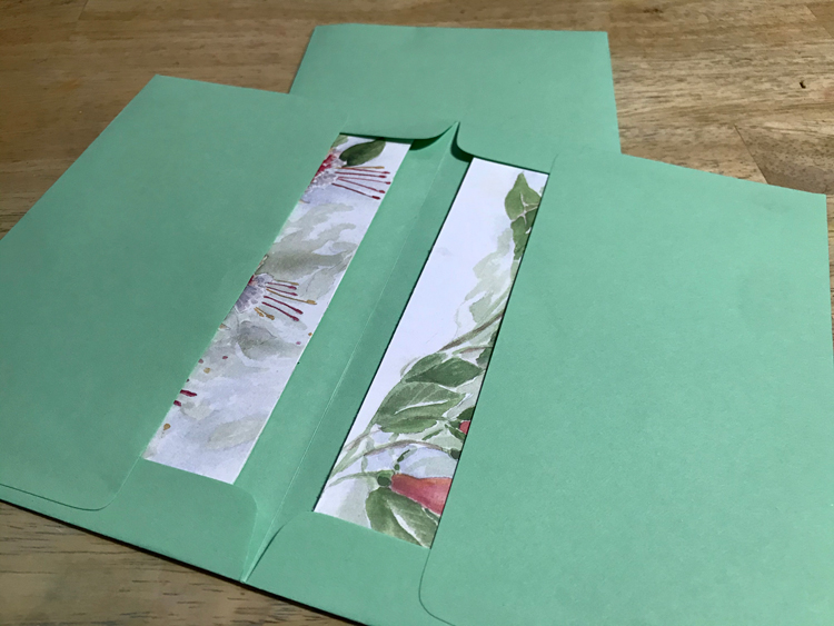 Signature Wrap with Cards