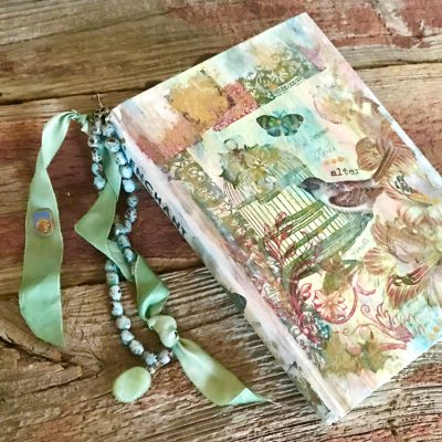 Add Bling to Handmade Books