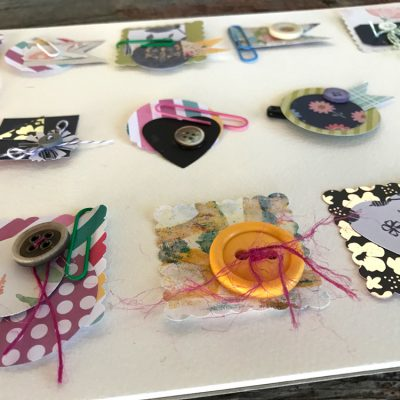 How to Make Tiny Collage Embellishments!
