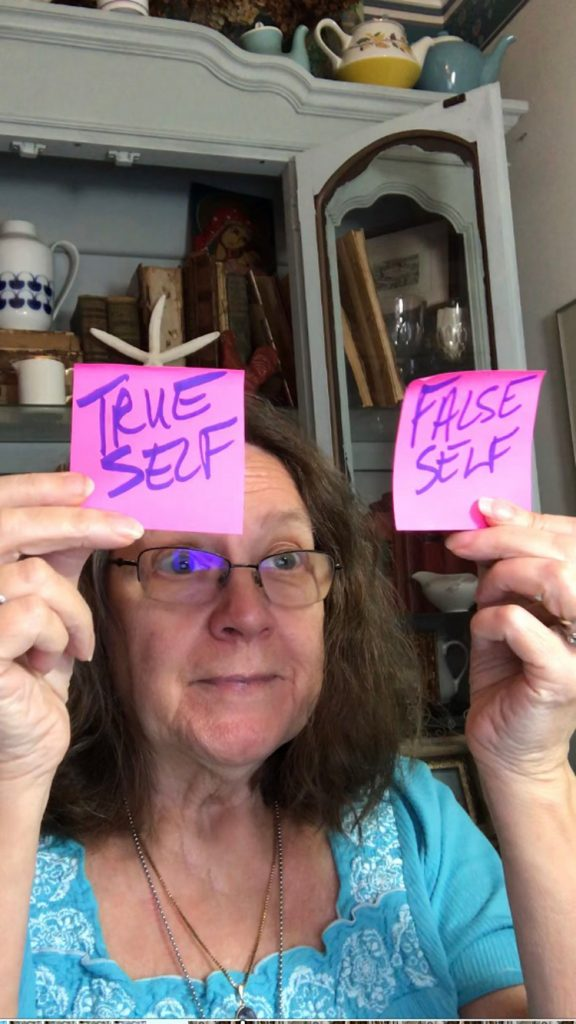 True Self False Self Stickers Rebecca E. Parsons