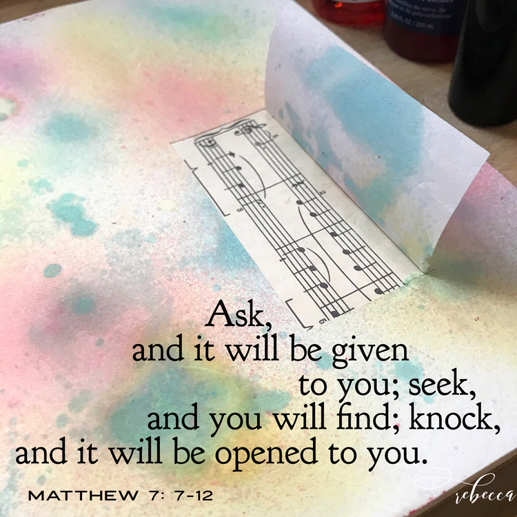 Bible Quote Happy Window Background