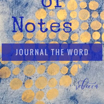 Bible Notes Junk Journal 40 Days!