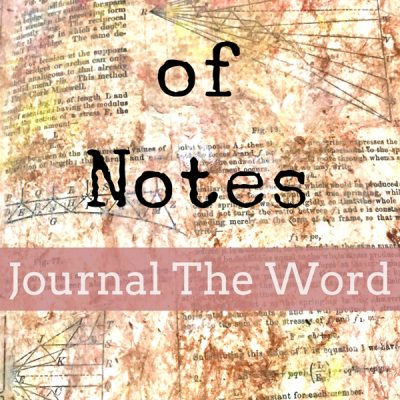 Bible Journaling Junk Journal Style!