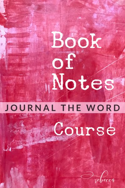 Book of Notes Journal the WOrd Background 4 PIN