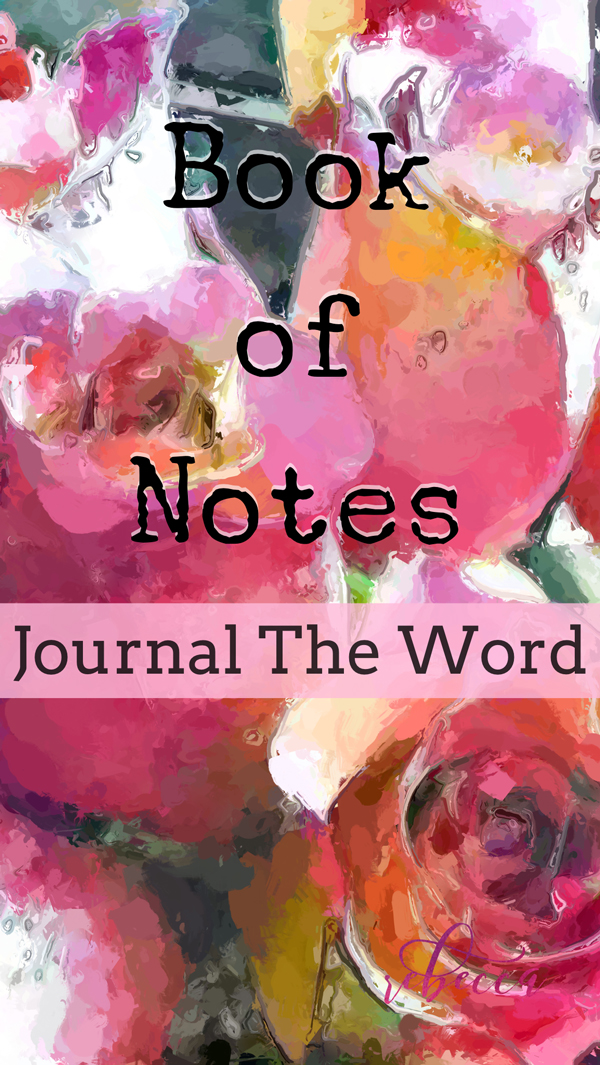 Do you Bible Journal? Book of Notes Journal The Word Pin